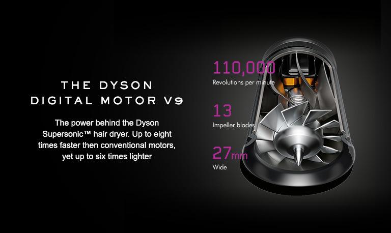 The Dyson digital motor V9