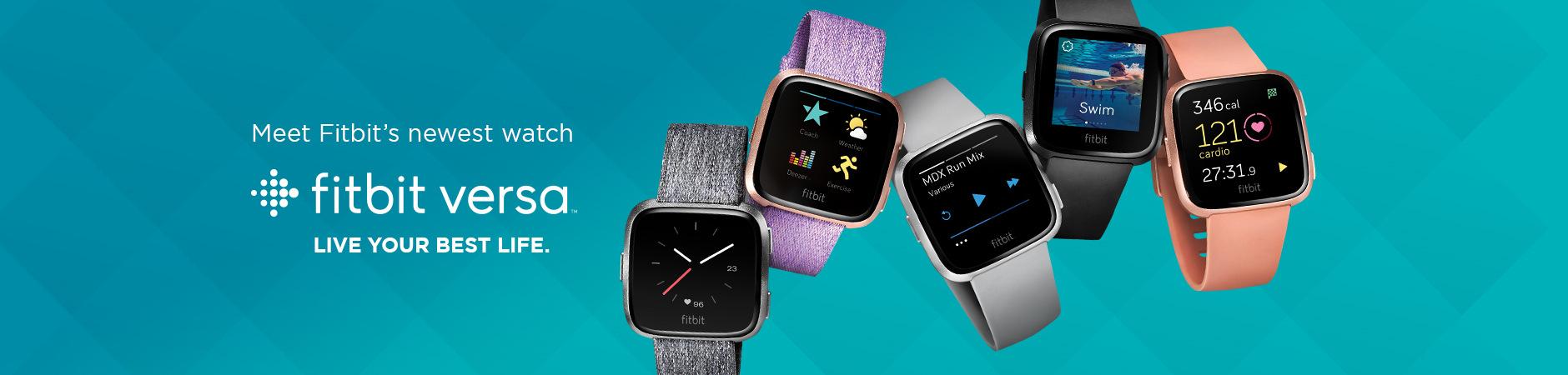 Meet Fitbit's newest watch - Fitbit Versa