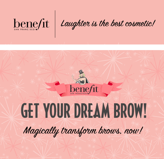 Get your dream brow!