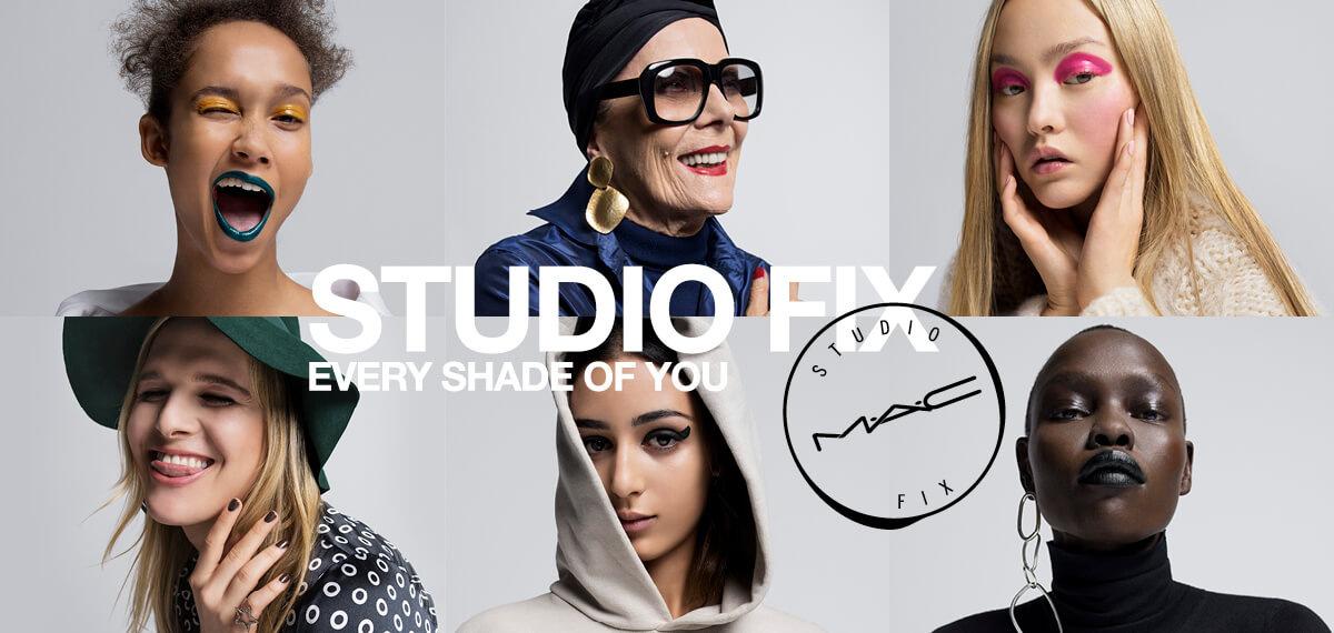 MAC Studio Fix makeup