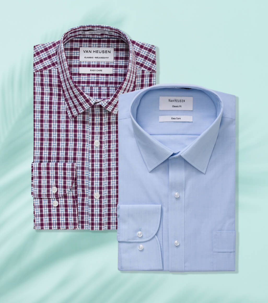 Various business shirts