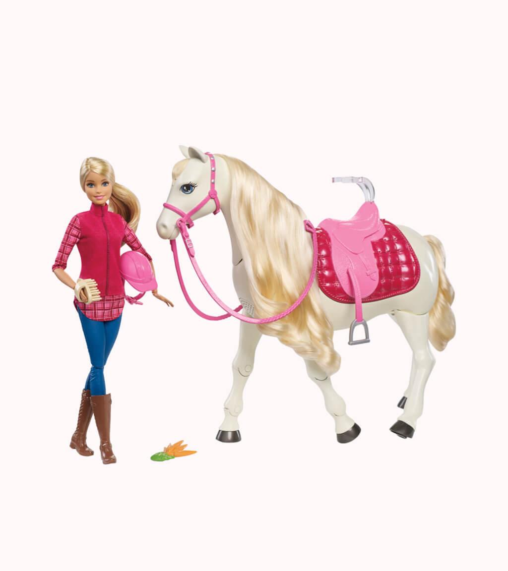 Equestrian Barbie