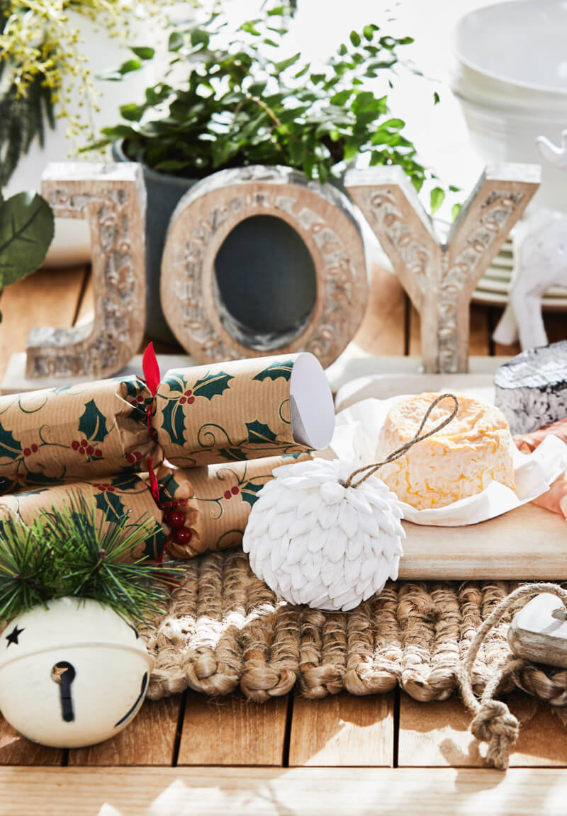 Outdoor party scene & Myer Online - The Christmas Shop