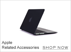 Apple related accessories. Shop now