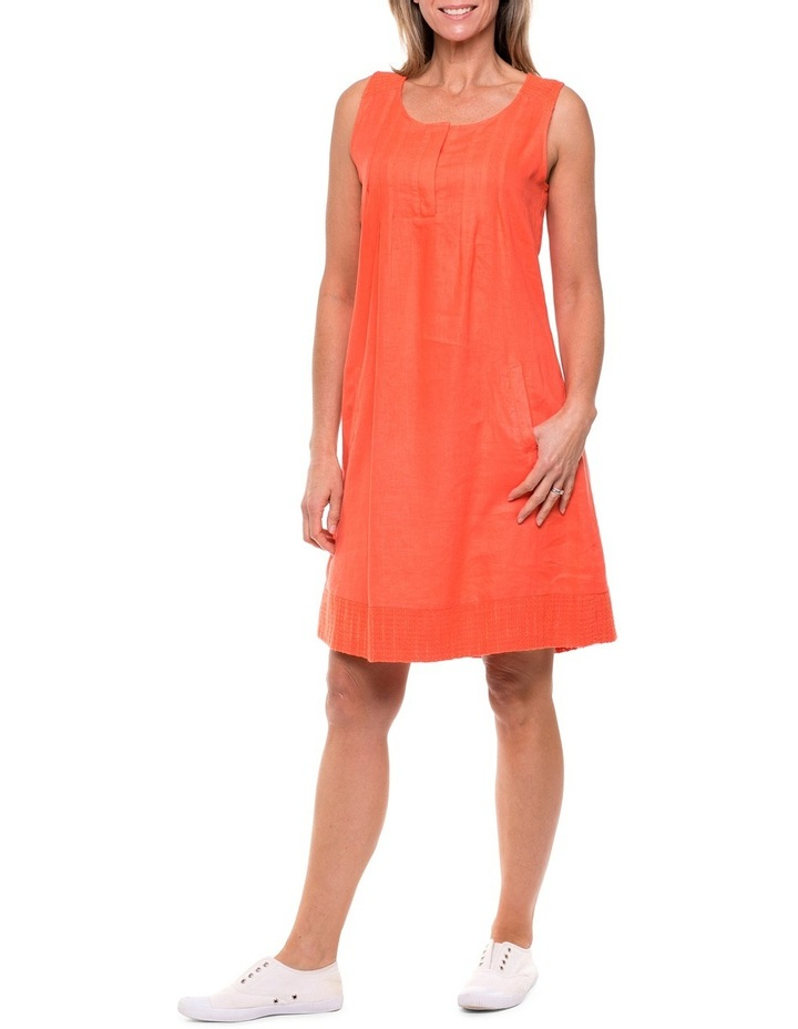 Sleeveless Textured Panel Dress image 1