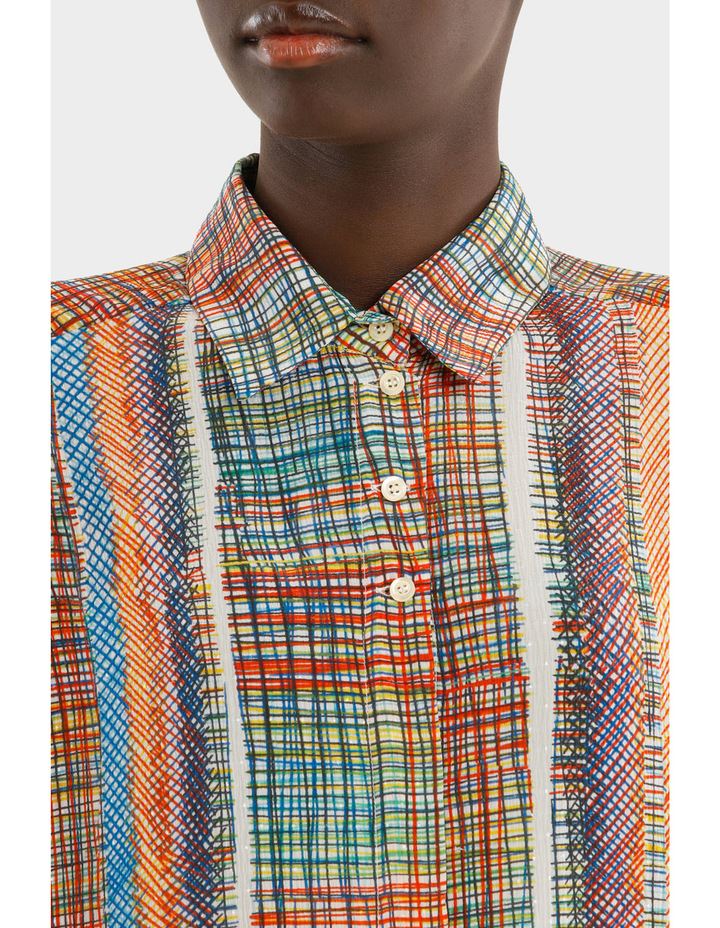 Chaos Printed Creponne Shirt image 4