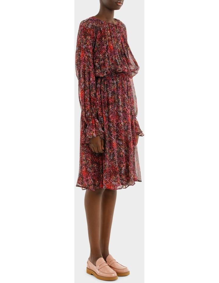 Long Sleeve Printed Dress image 2