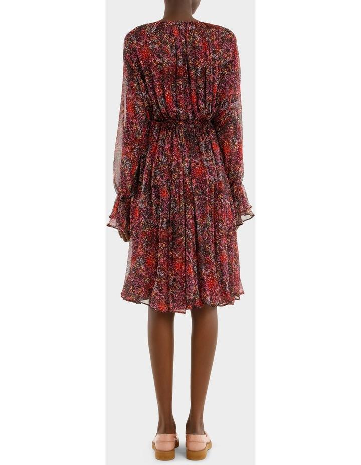 Long Sleeve Printed Dress image 3