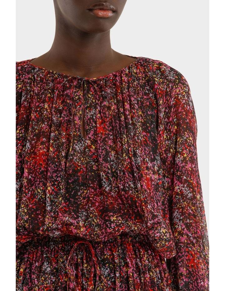 Long Sleeve Printed Dress image 4