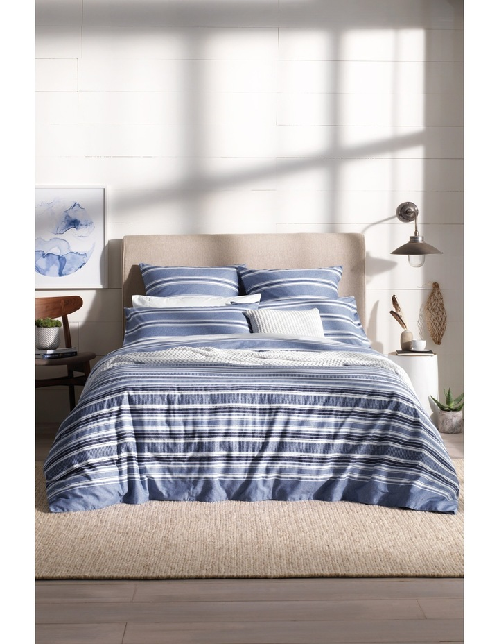 Alewyn Quilt Cover Range in Surf image 1