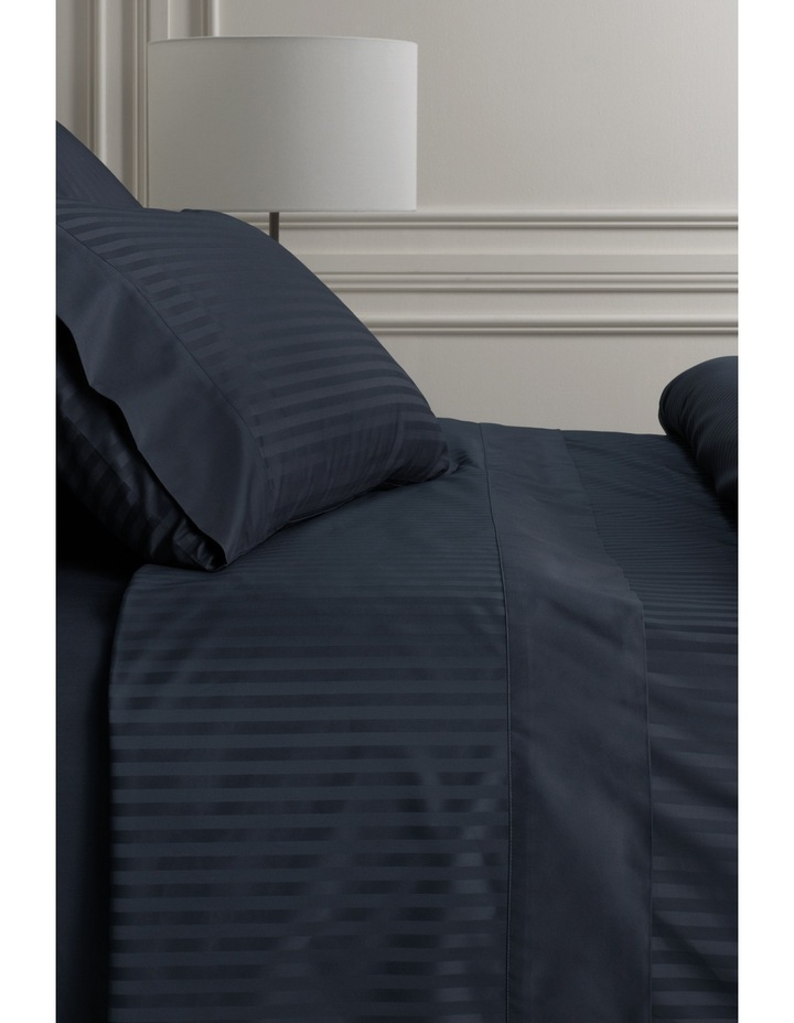 Millennia Fitted Sheet in Midnight image 1