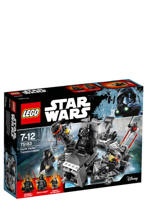 Lego Star Wars Darth Vader Transformation 75183 Myer Online