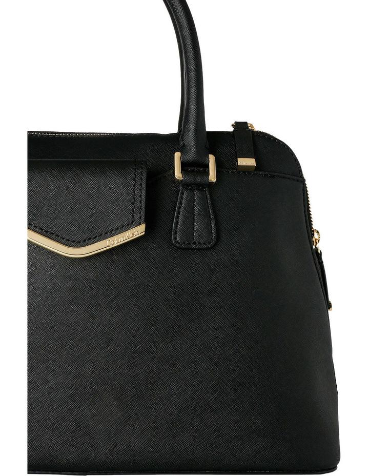 On My Corner Saffiano Leather Satchel image 3