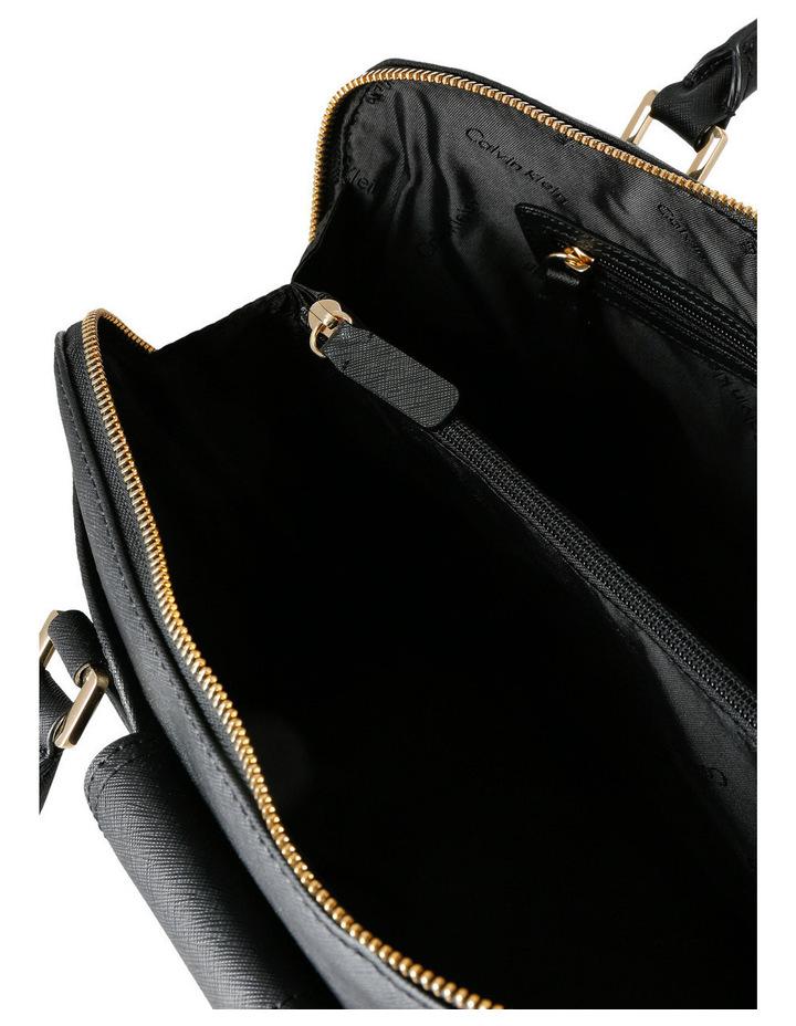 On My Corner Saffiano Leather Satchel image 4