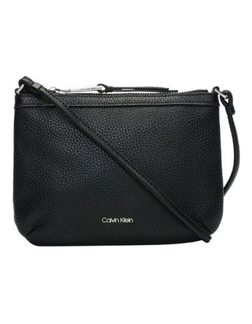 1b5079ed1 Calvin Klein Pebble Leather Crossbody Bag
