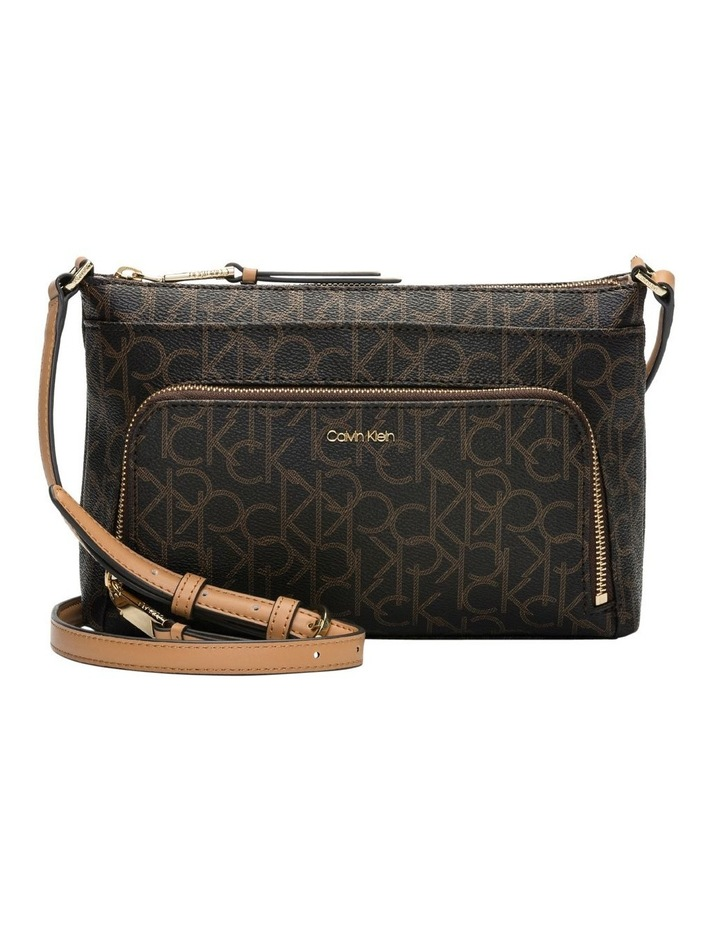 08bbd30fd Calvin Klein | Monogram Zip Crossbody Bag | MYER