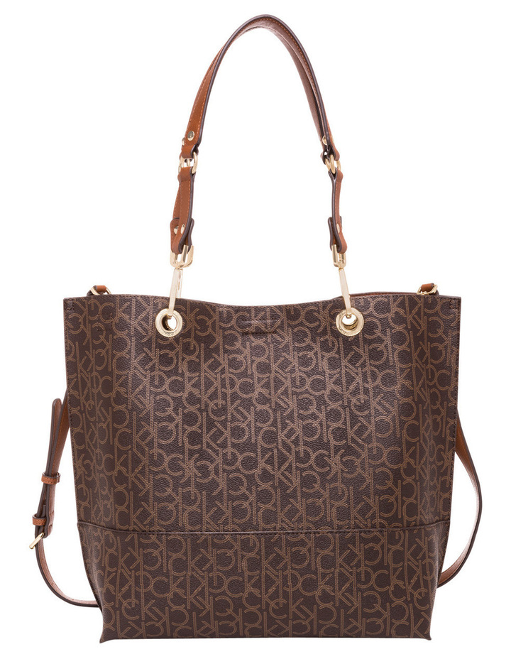 Reversible Monogram North South Tote image 1
