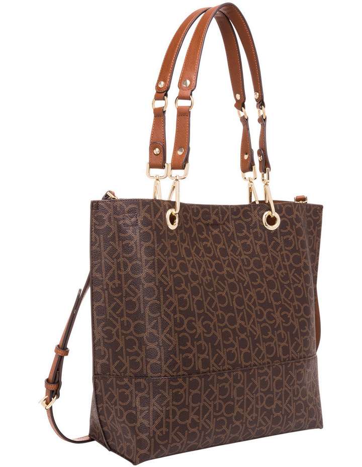 Reversible Monogram North South Tote image 2