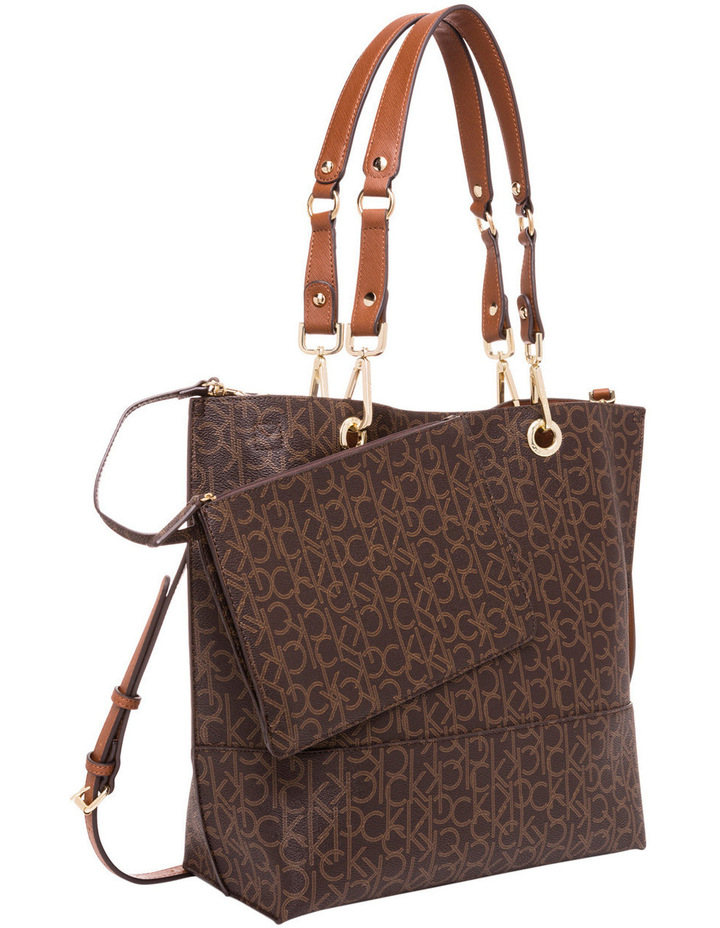 Reversible Monogram North South Tote image 5