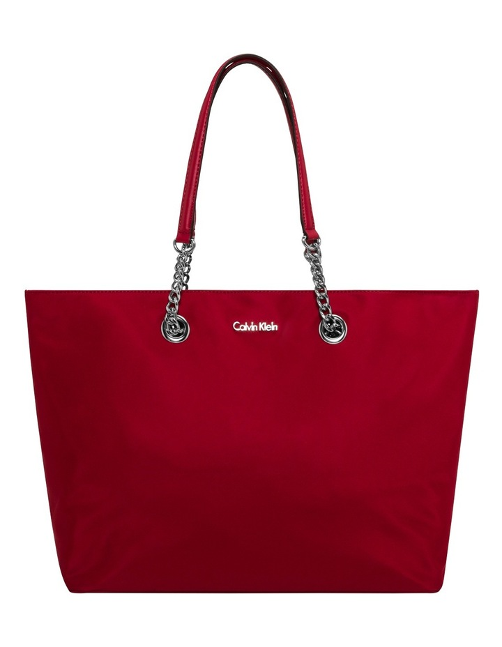 6b1dff952eb Calvin Klein | Nylon Chain Tote Bag | MYER