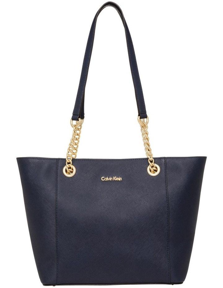 H8AA18DS_NVY Hayden Chain Tote Bag image 1