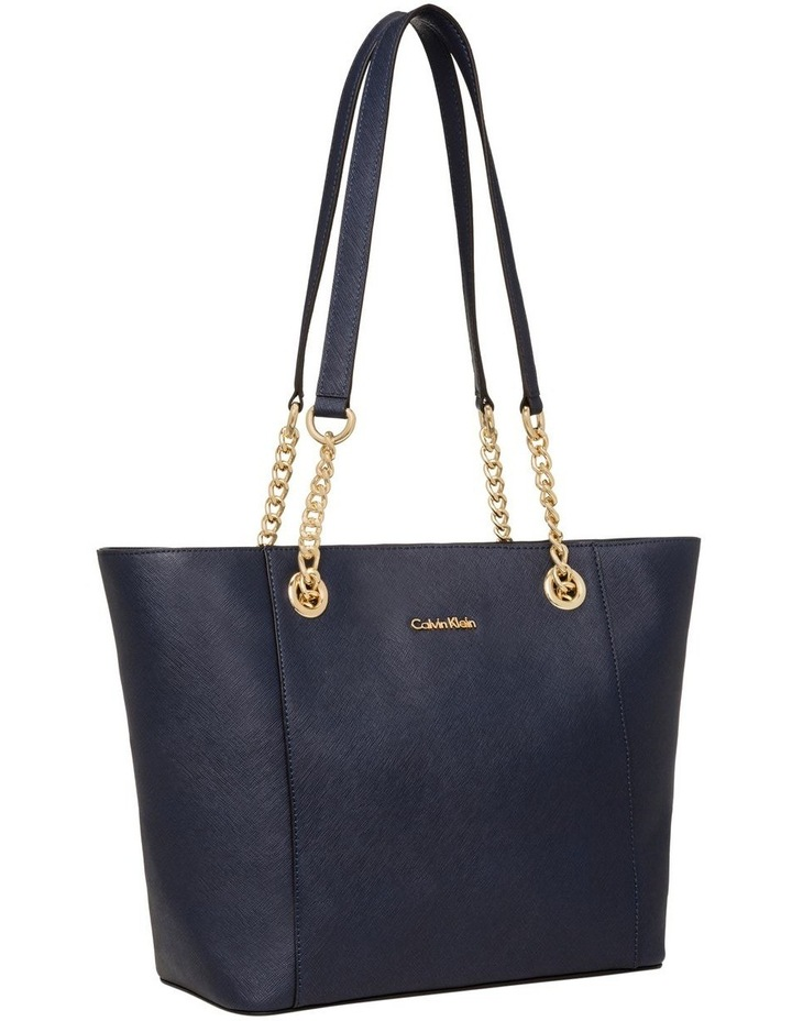 H8AA18DS_NVY Hayden Chain Tote Bag image 2