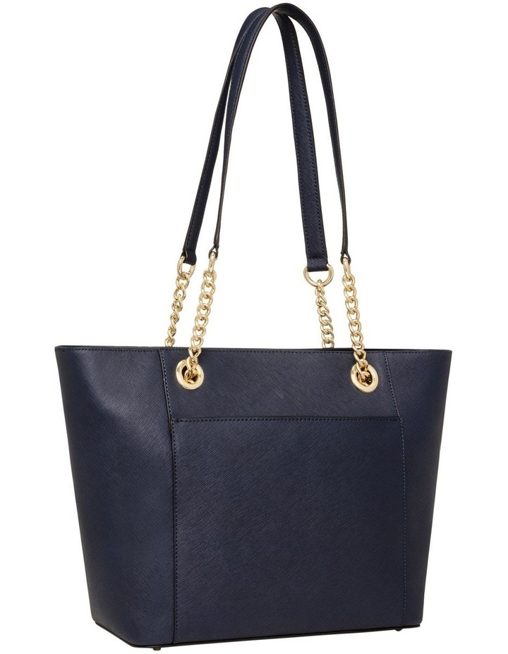 H8AA18DS_NVY Hayden Chain Tote Bag image 3