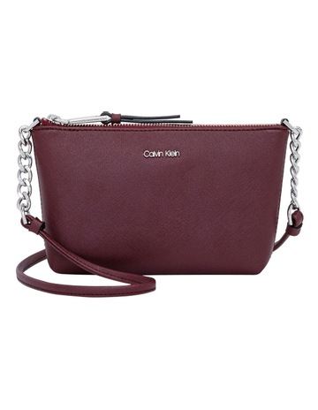 0f0fc9878b Calvin KleinH7DE12CR MER Hayden Zip Top Crossbody. Calvin Klein  H7DE12CR MER Hayden Zip Top Crossbody