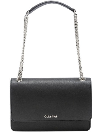 d2cc3abc620 Calvin Klein Chain Link Shoulder Bag