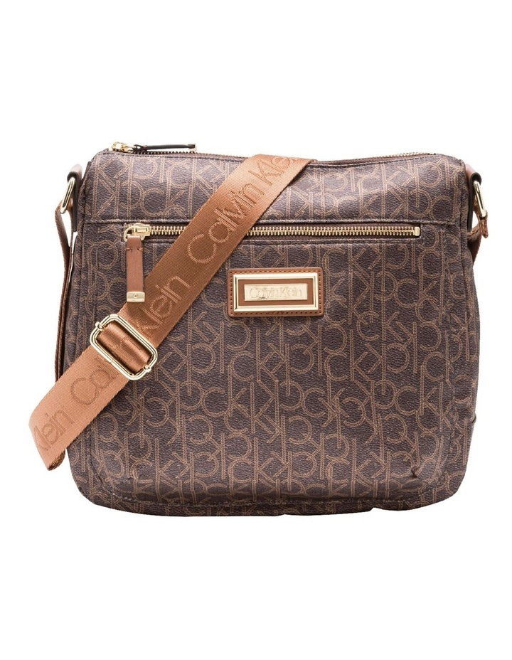 Nylon Zip Top Crossbody Bag image 1