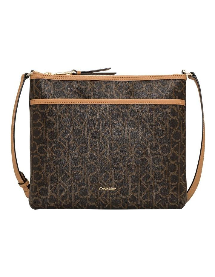 H7AEJ6MJ_BKH Lilly Large Zip Top Crossbody Bag image 1
