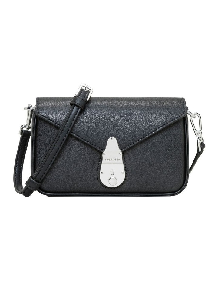 Lock Flap Over Crossbody Bag image 1