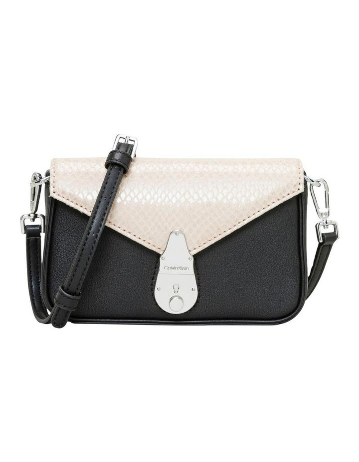 Lock Flap Over Crossbody Bag image 1