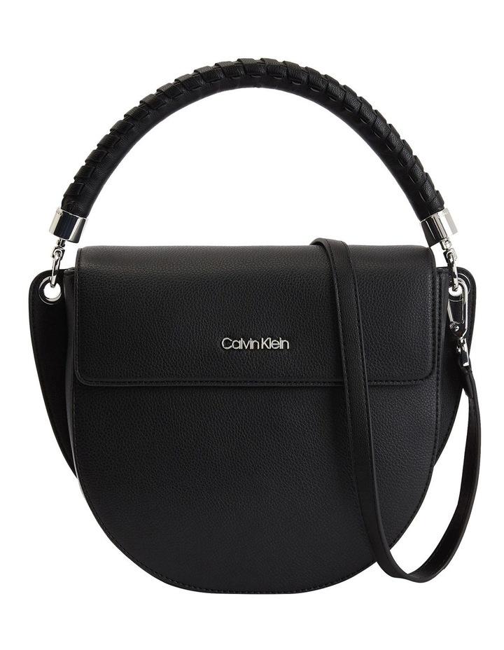Black Md Saddle Crossbody Bag image 1