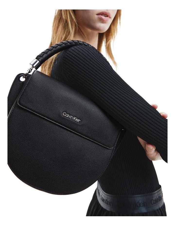 Black Md Saddle Crossbody Bag image 3
