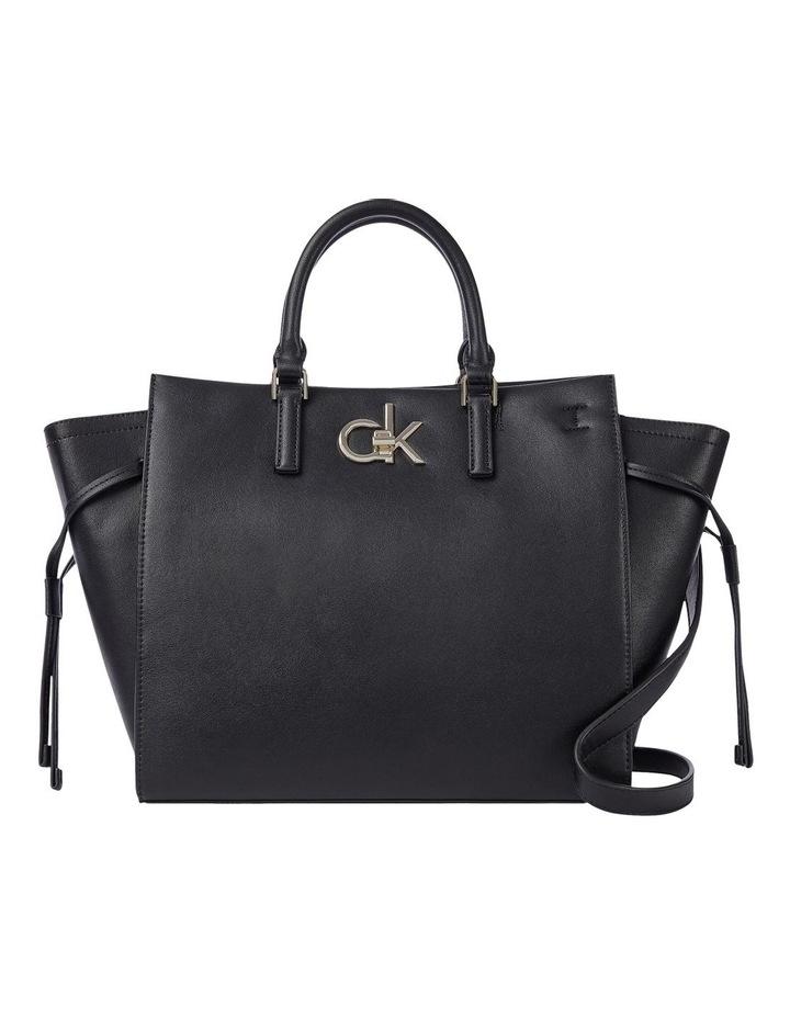 CK Black Zip Top Tote Bag image 1