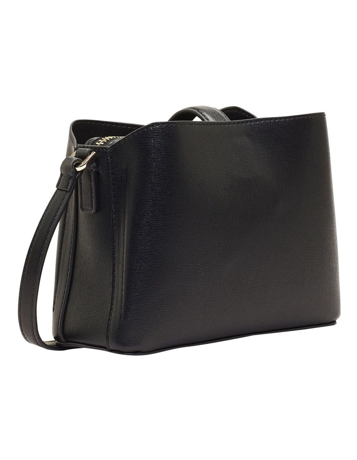Zip Top CK Black Crossbody Bag image 2