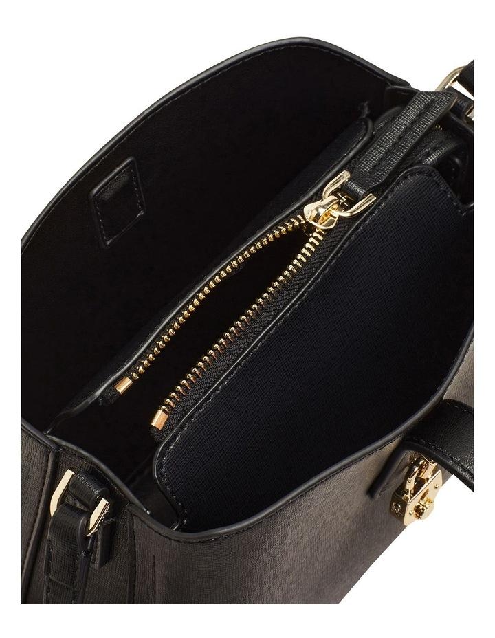 Zip Top CK Black Crossbody Bag image 3