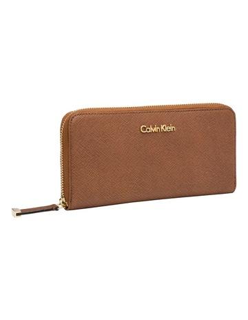 b10d8a4958 Calvin Klein Saffiano Wallet Luggage