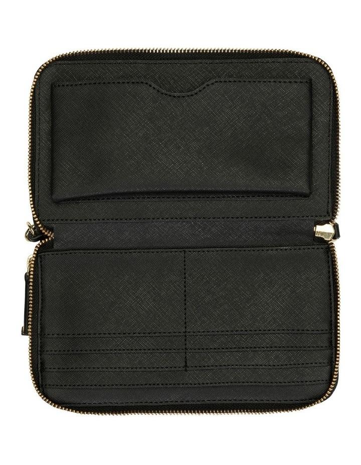 H8Gq18Xf_Blk  Zip Around Wallet image 3