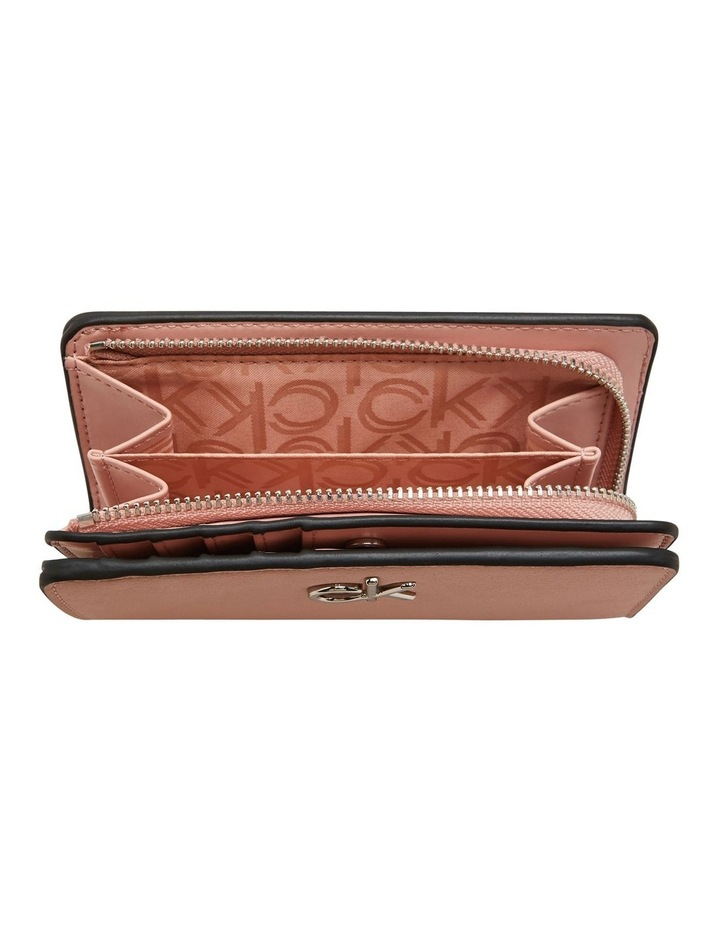 Billfold French Blush Zip Around Wallet image 3