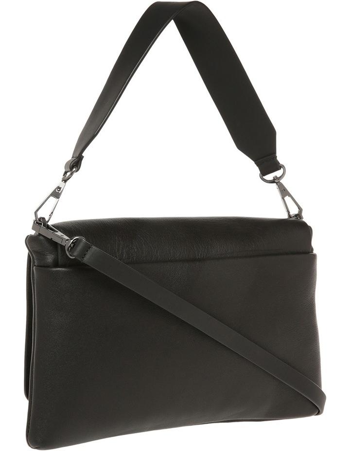 R461540602 Debossed Logo Flap Shoulder Bag image 2