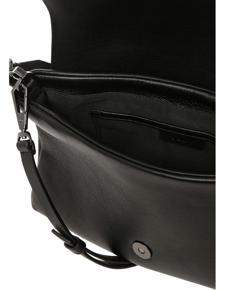 R461540602 Debossed Logo Flap Shoulder Bag image 4