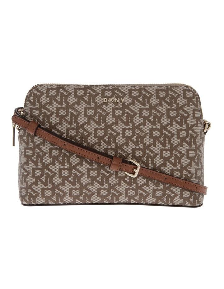 Bryant Caramel Zip-Top Crossbody Bag image 1
