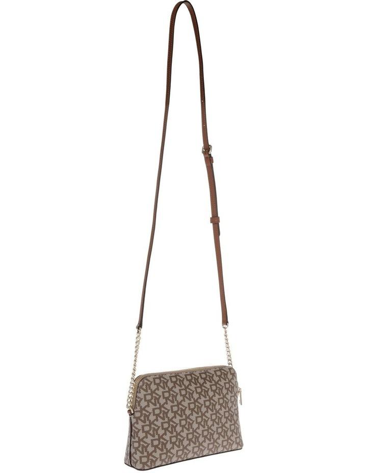 Bryant Caramel Zip-Top Crossbody Bag image 2