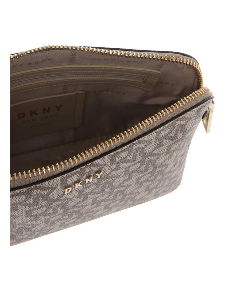 Bryant Caramel Zip-Top Crossbody Bag image 4