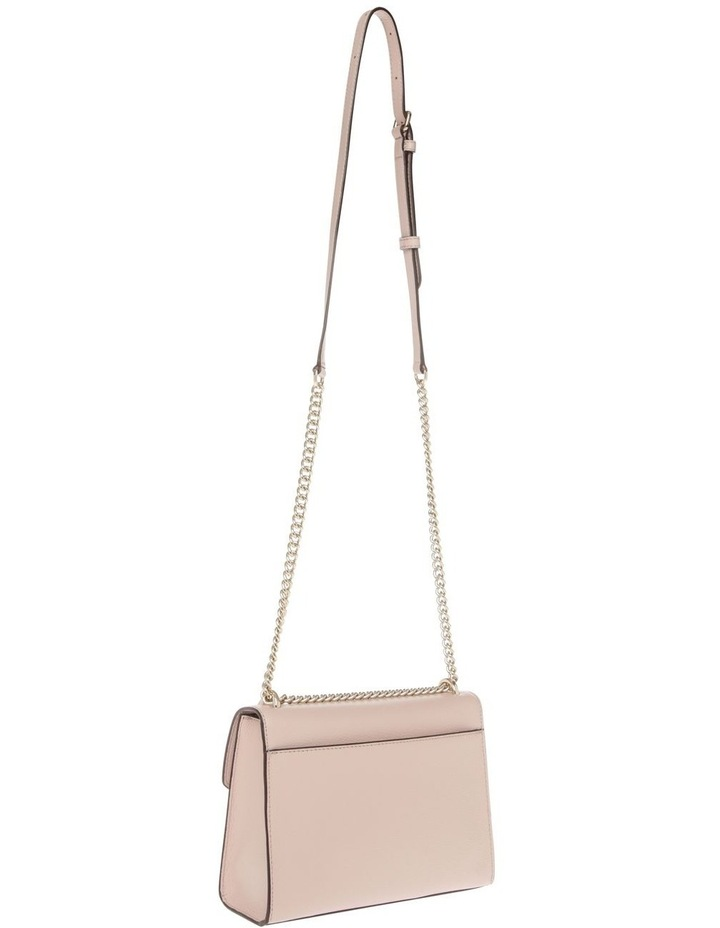 Von Beige Flap-Over Shoulder Bag image 2