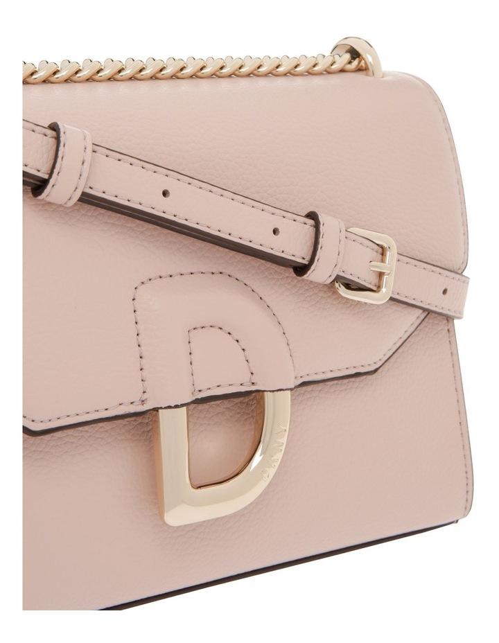 Von Beige Flap-Over Shoulder Bag image 4