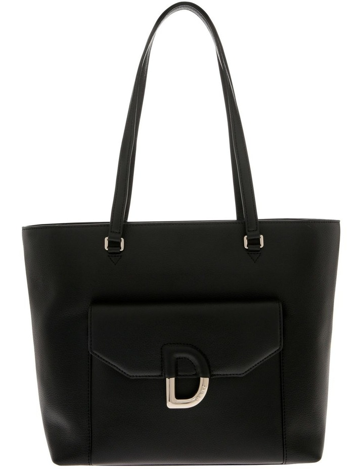 Von Black Double-Handle Tote Bag image 1