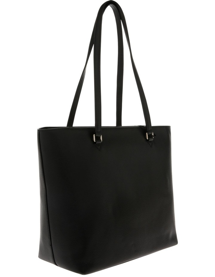 Von Black Double-Handle Tote Bag image 2